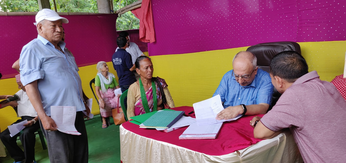 Diabetes Eye Screening Camp At Panitanki Rotary Club Of Kakarvitta 5