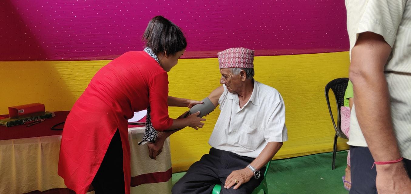 Diabetes Eye Screening Camp At Panitanki Rotary Club Of Kakarvitta 6