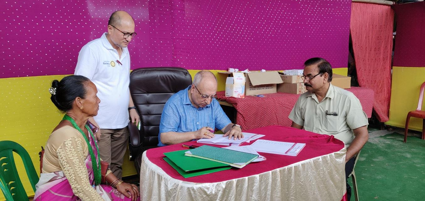 Diabetes Eye Screening Camp At Panitanki Rotary Club Of Kakarvitta 7
