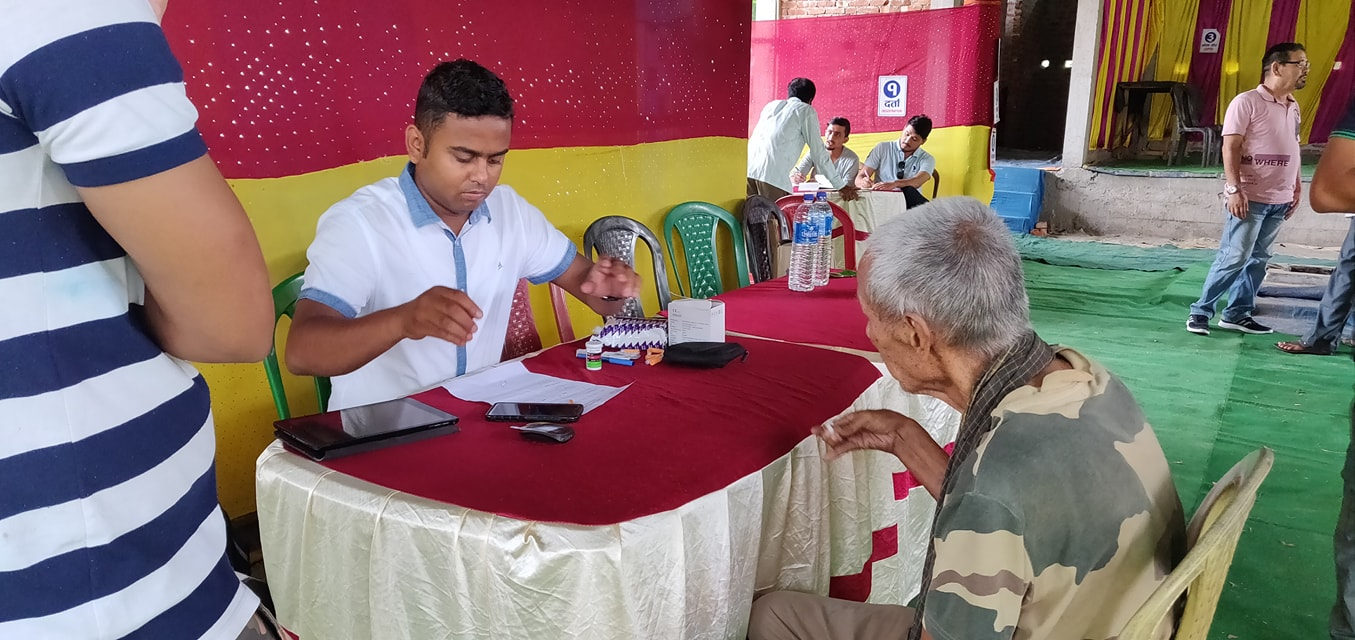 Diabetes Eye Screening Camp At Panitanki Rotary Club Of Kakarvitta 8