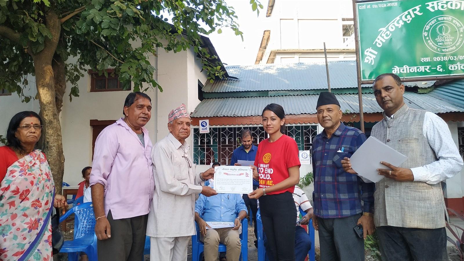 Diabetes Eye Screening Health Camp On 29th World Diabetes Day Rotary Club Of Kakarvitta 4