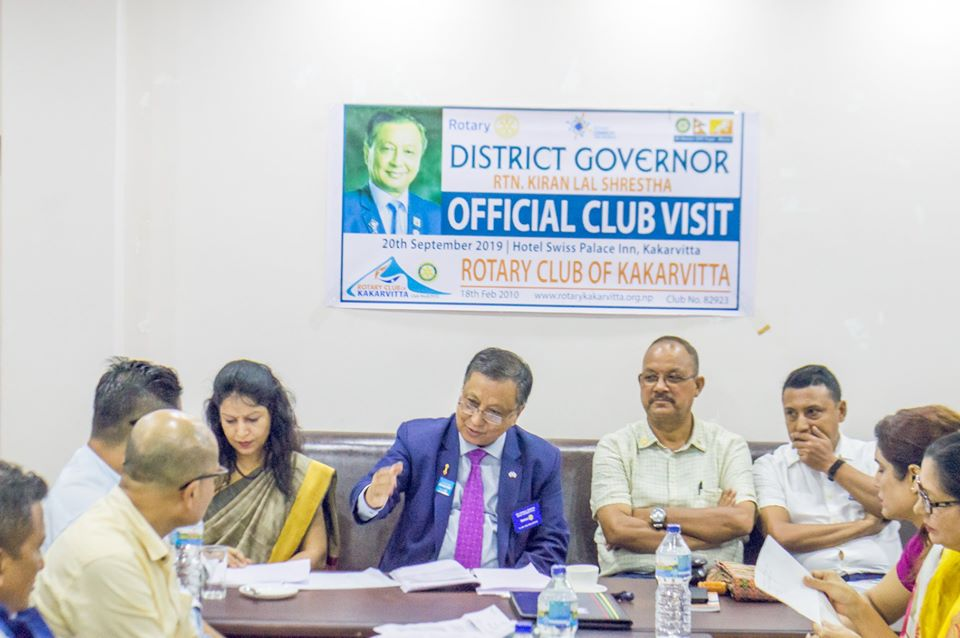 District Governors Official Club Visit 201920 10