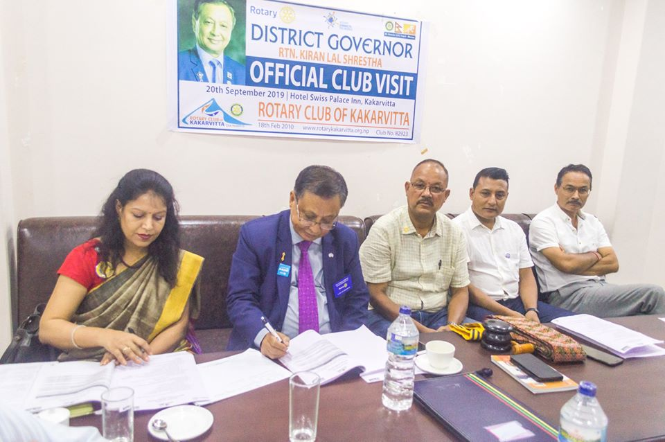 District Governors Official Club Visit 201920 12