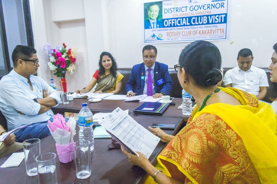 District Governors Official Club Visit 201920 14