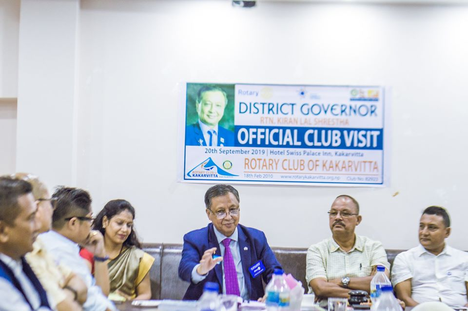 District Governors Official Club Visit 201920 15