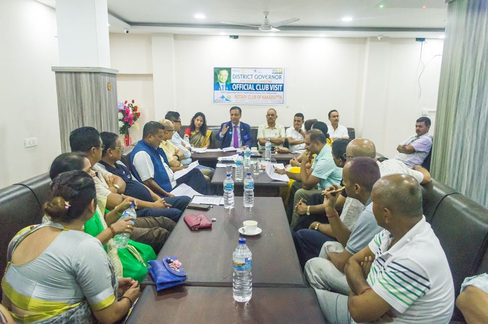 District Governors Official Club Visit 201920 3