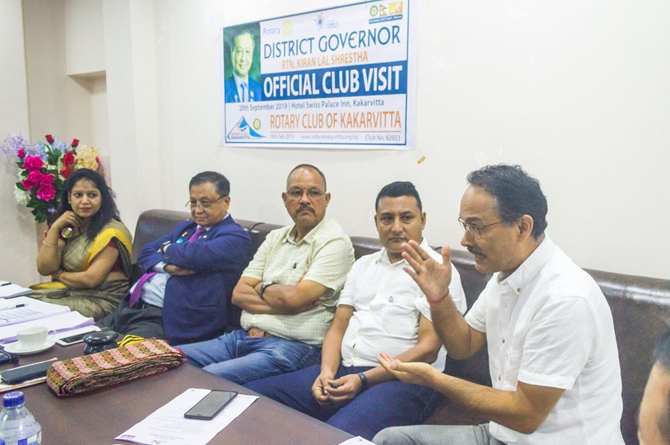 District Governors Official Club Visit 201920 6