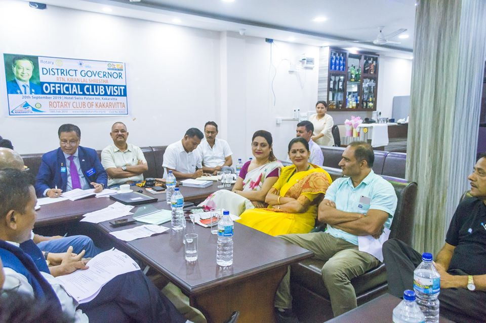 District Governors Official Club Visit 201920 9