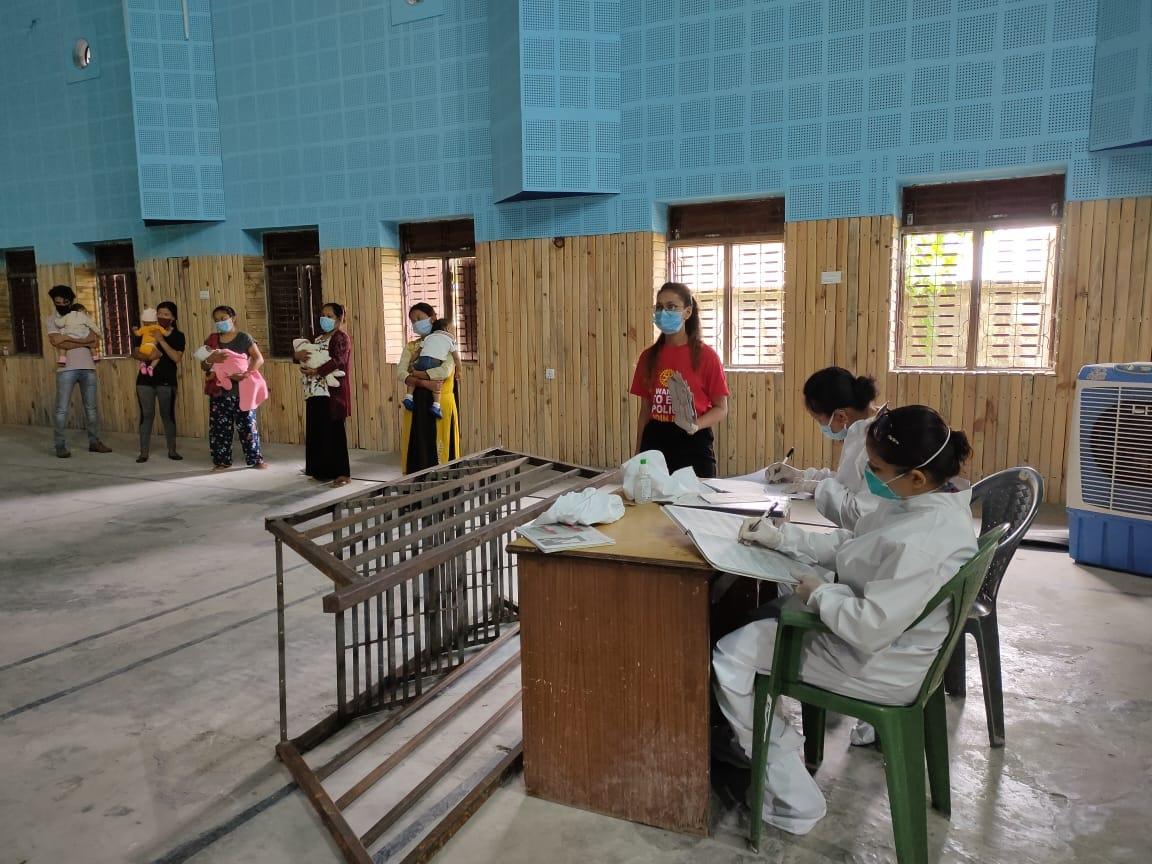 Hand Sanitizer Mask Distribution At Immunization Program 6
