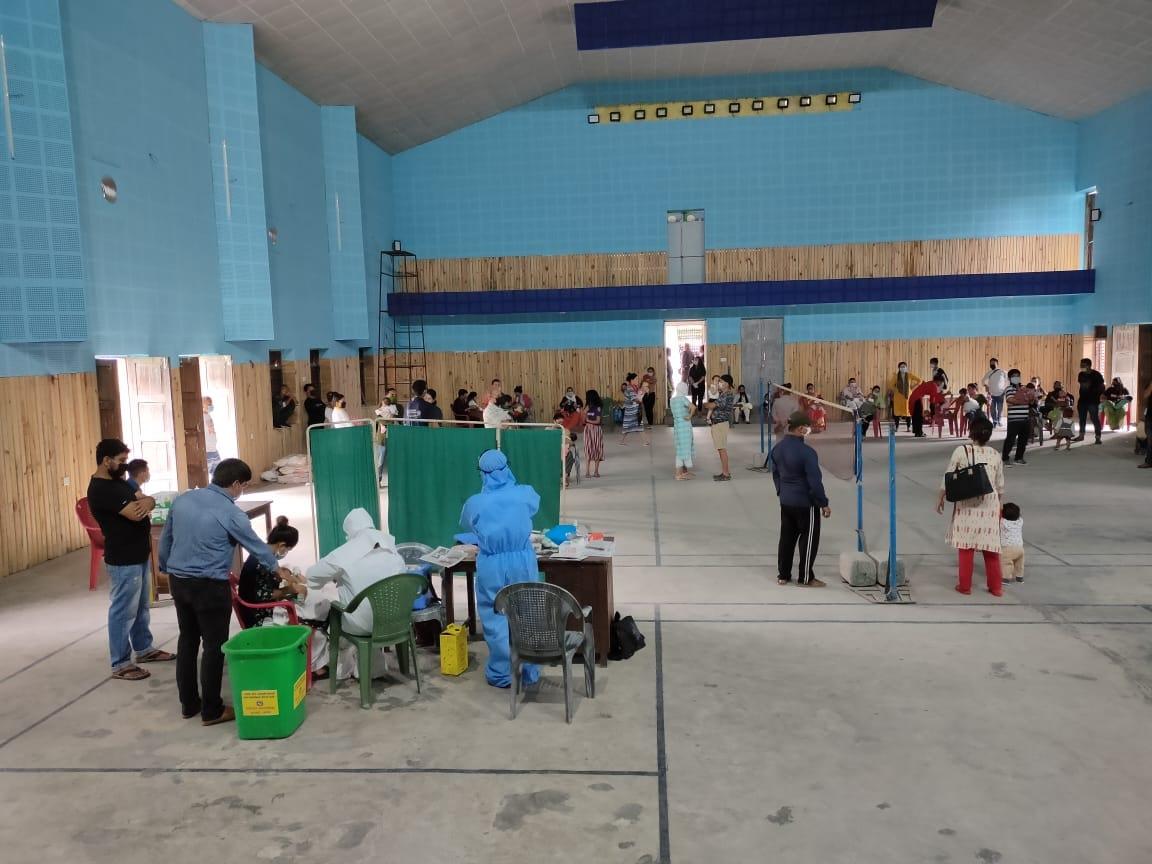 Hand Sanitizer Mask Distribution At Immunization Program 7