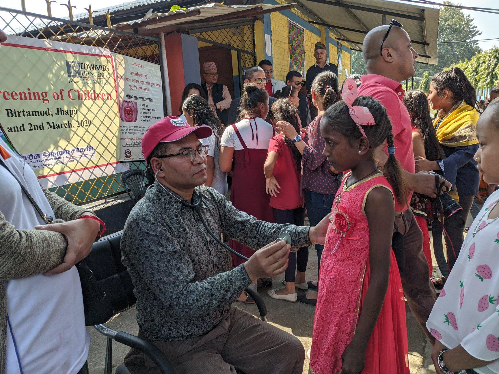 Heart Screening For Children At Itabhatta 1