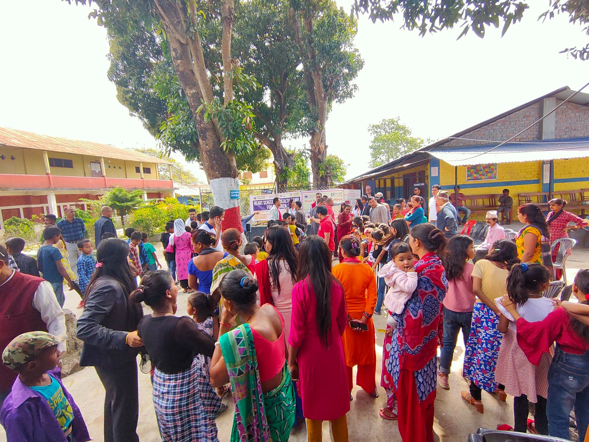 Heart Screening For Children At Itabhatta 7