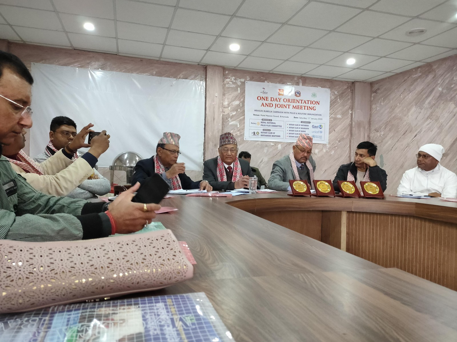 One Day Orientation Joint Meeting About Immunization Rotary Club Of Kakarvitta 1