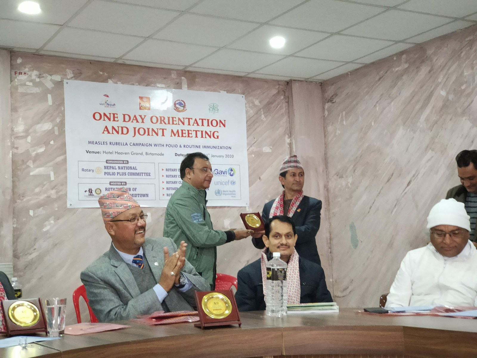 One Day Orientation Joint Meeting About Immunization Rotary Club Of Kakarvitta 12
