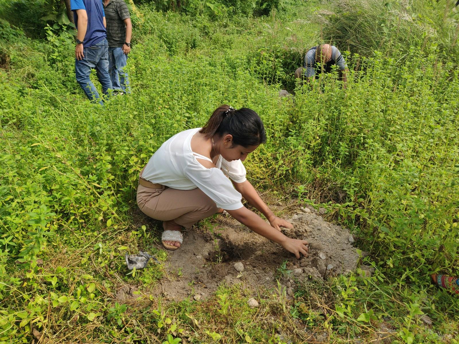 Rudraksha Plantation Program At Mechi Bishramalaya Rotary Club Of Kakarvitta 23