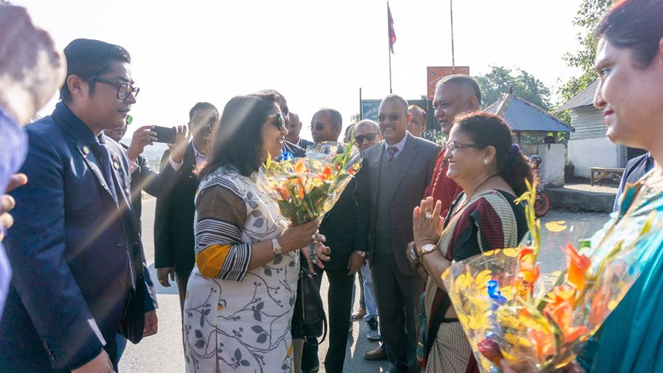 Welcoming Ripn Shekher Mehta To Nepal 10