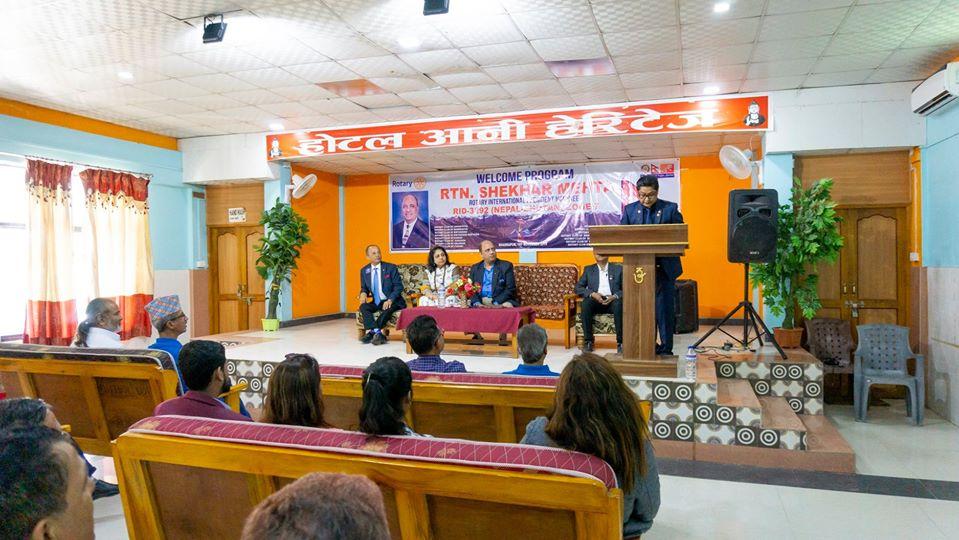 Welcoming Ripn Shekher Mehta To Nepal 12