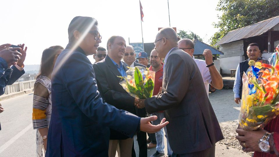 Welcoming Ripn Shekher Mehta To Nepal 13