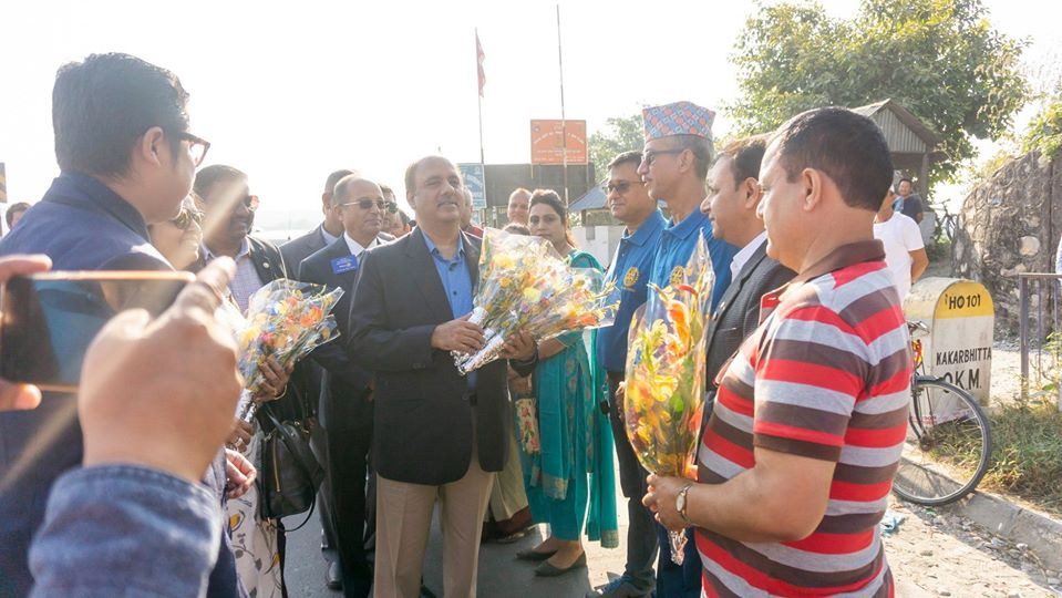 Welcoming Ripn Shekher Mehta To Nepal 3