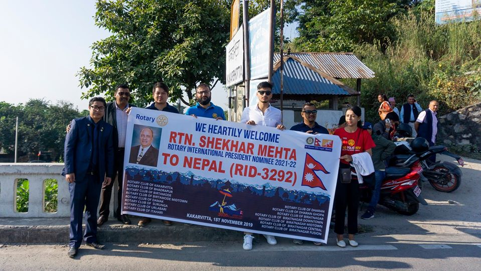 Welcoming Ripn Shekher Mehta To Nepal 4