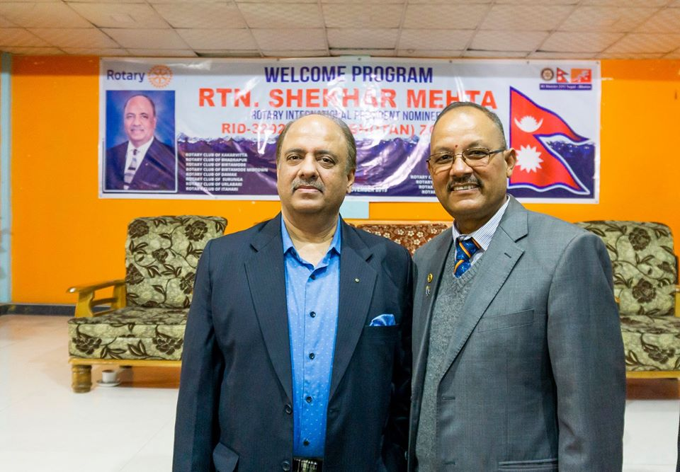 Welcoming Ripn Shekher Mehta To Nepal 6