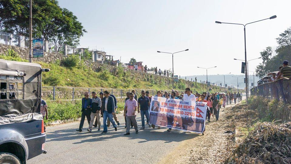 Welcoming Ripn Shekher Mehta To Nepal 7