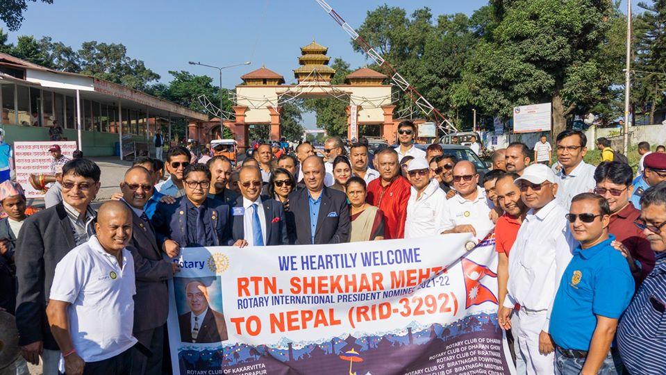 Welcoming Ripn Shekher Mehta To Nepal 9