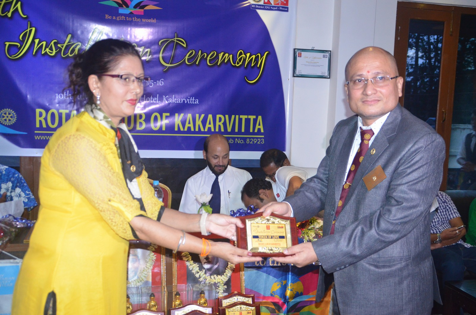 6th Installation Ceremony 2015 16 Rotary Club Of Kakarvitta 12