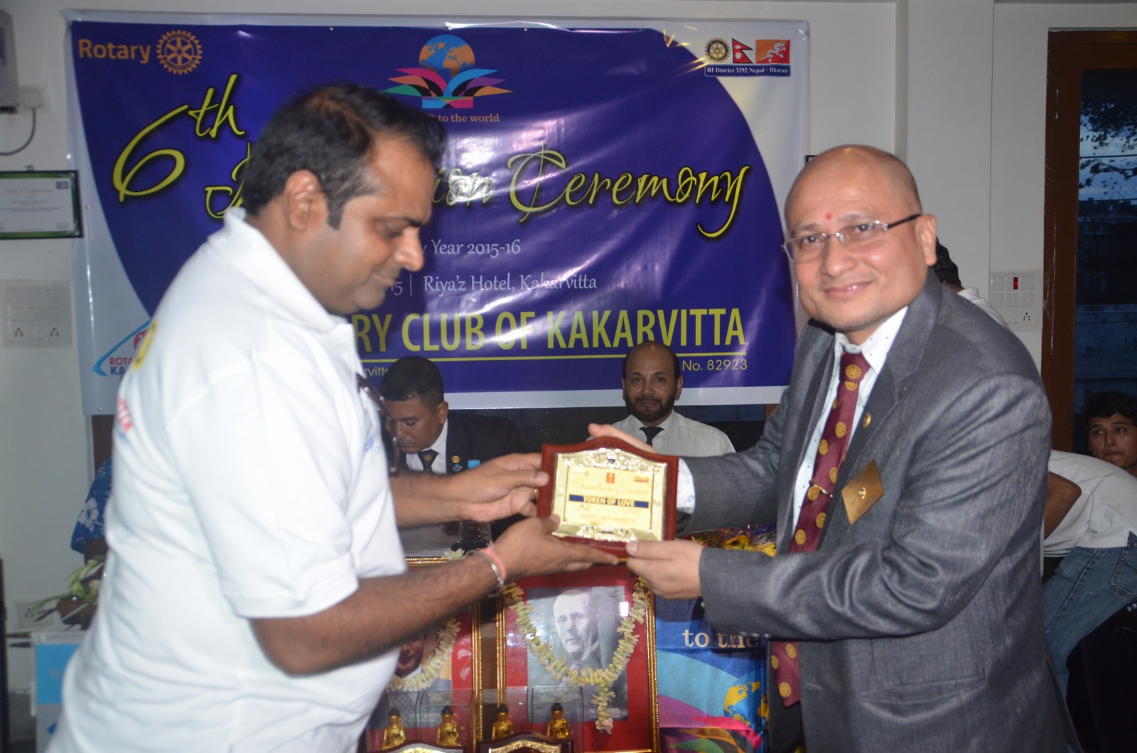 6th Installation Ceremony 2015 16 Rotary Club Of Kakarvitta 14