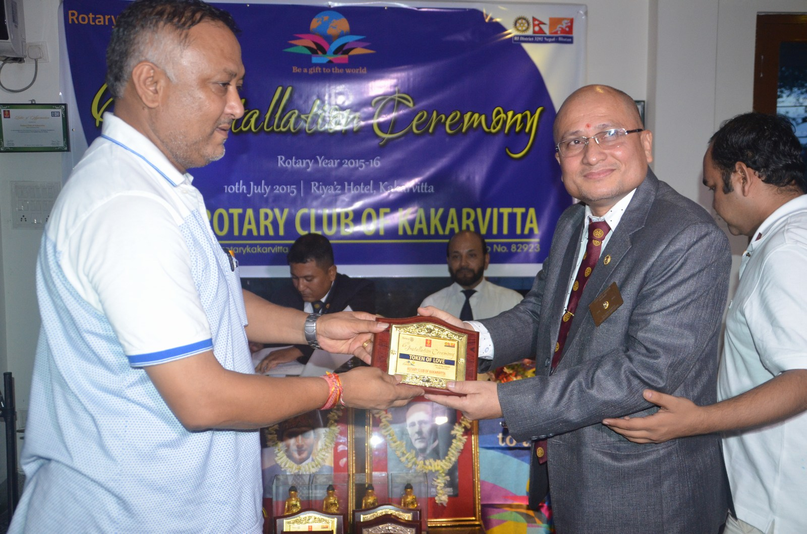 6th Installation Ceremony 2015 16 Rotary Club Of Kakarvitta 15