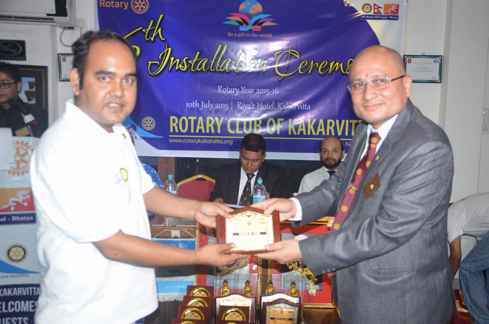 6th Installation Ceremony 2015 16 Rotary Club Of Kakarvitta 16