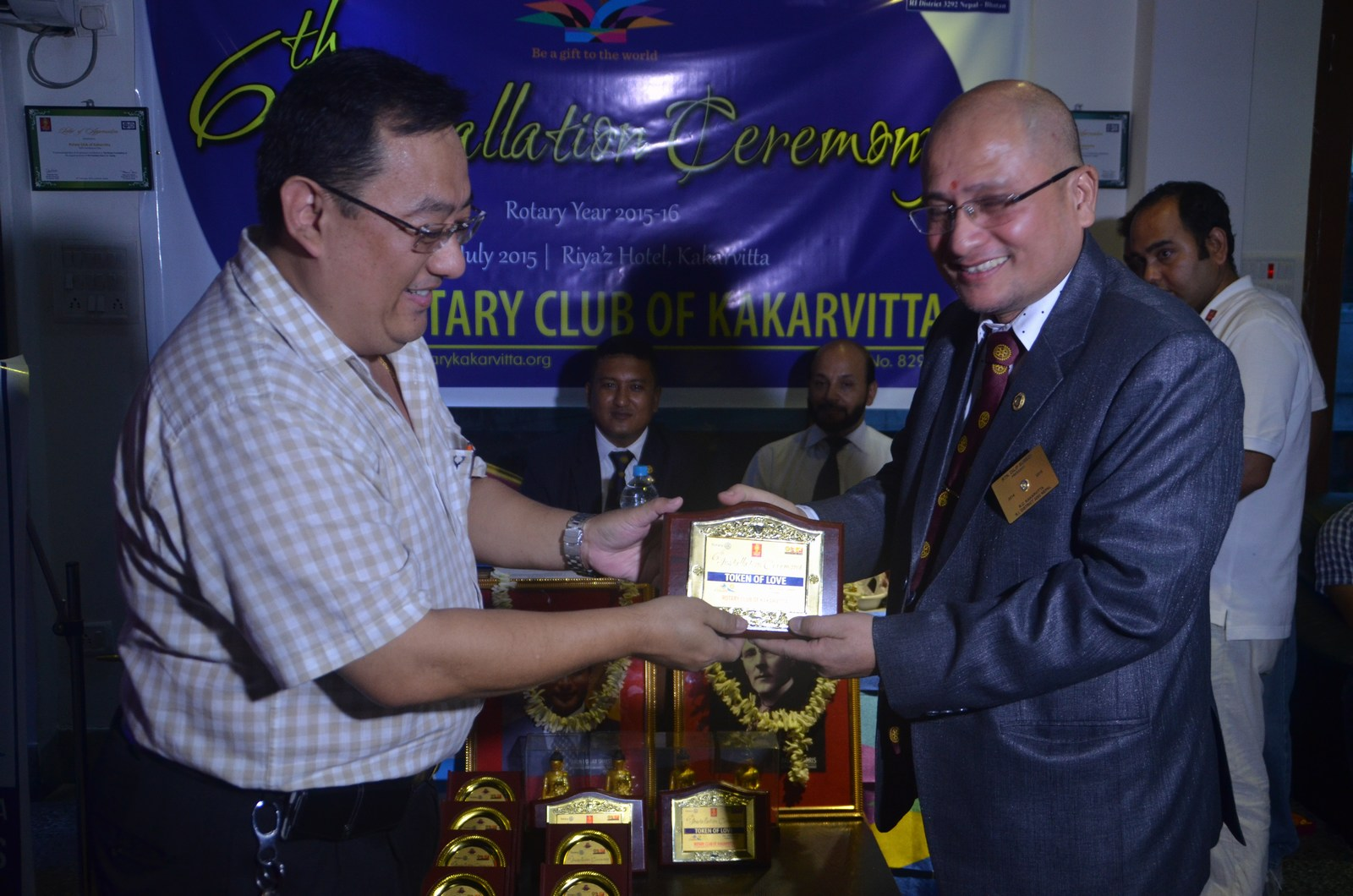 6th Installation Ceremony 2015 16 Rotary Club Of Kakarvitta 19