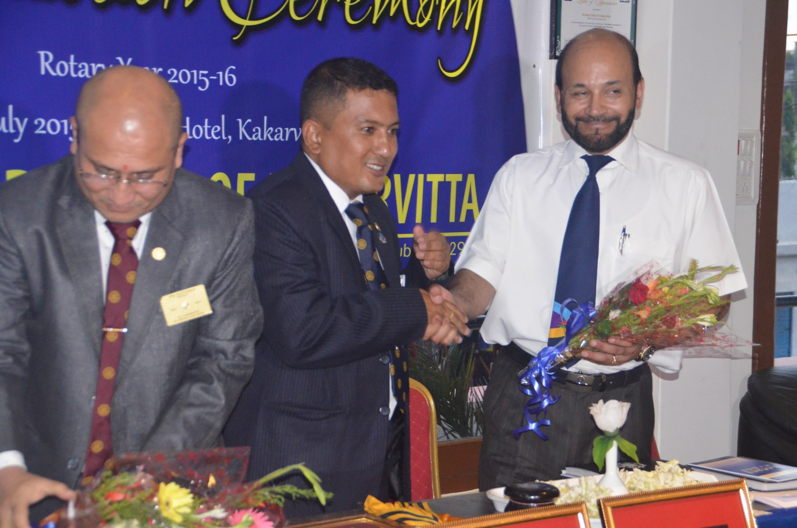 6th Installation Ceremony 2015 16 Rotary Club Of Kakarvitta 2