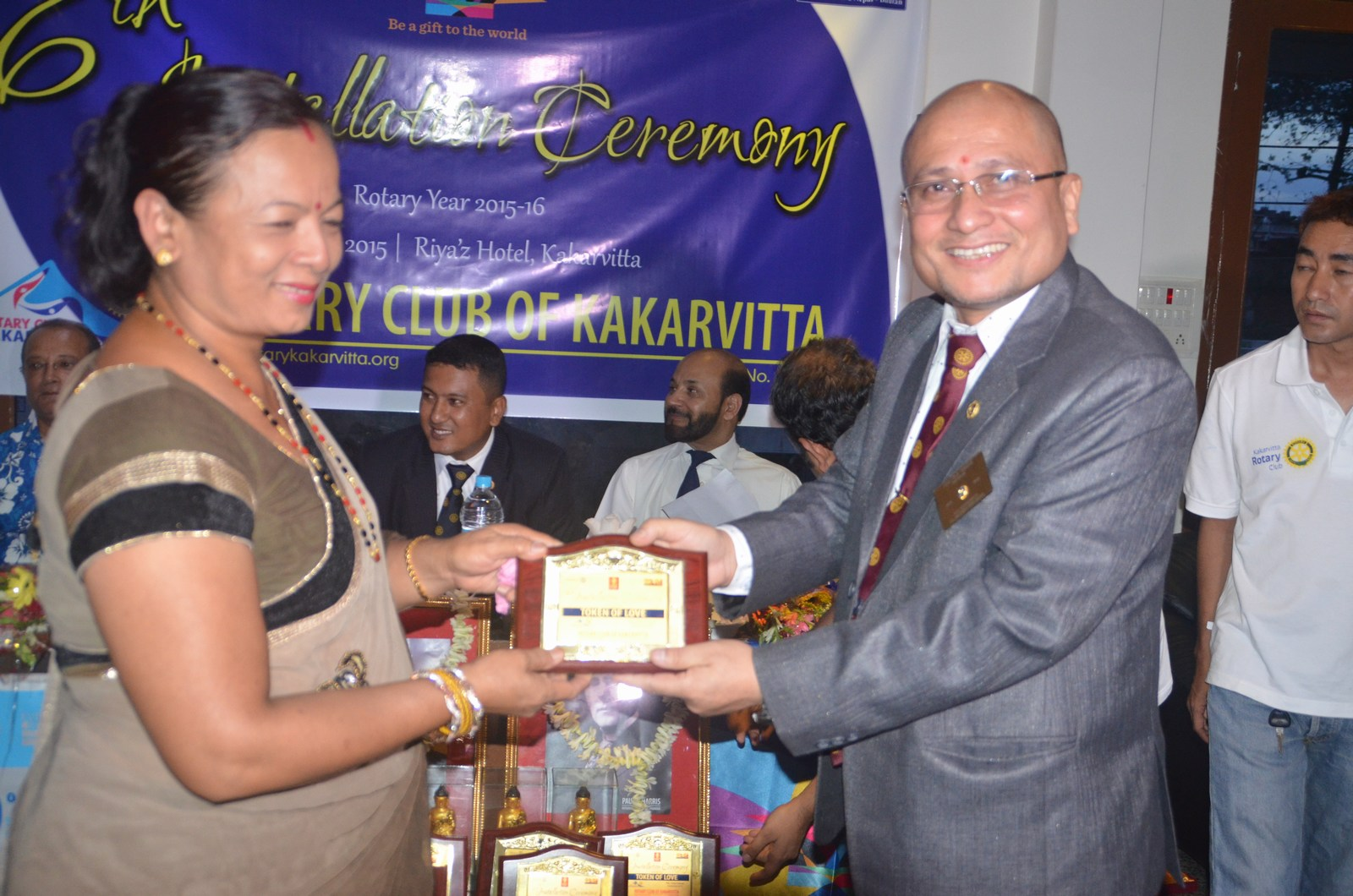 6th Installation Ceremony 2015 16 Rotary Club Of Kakarvitta 20