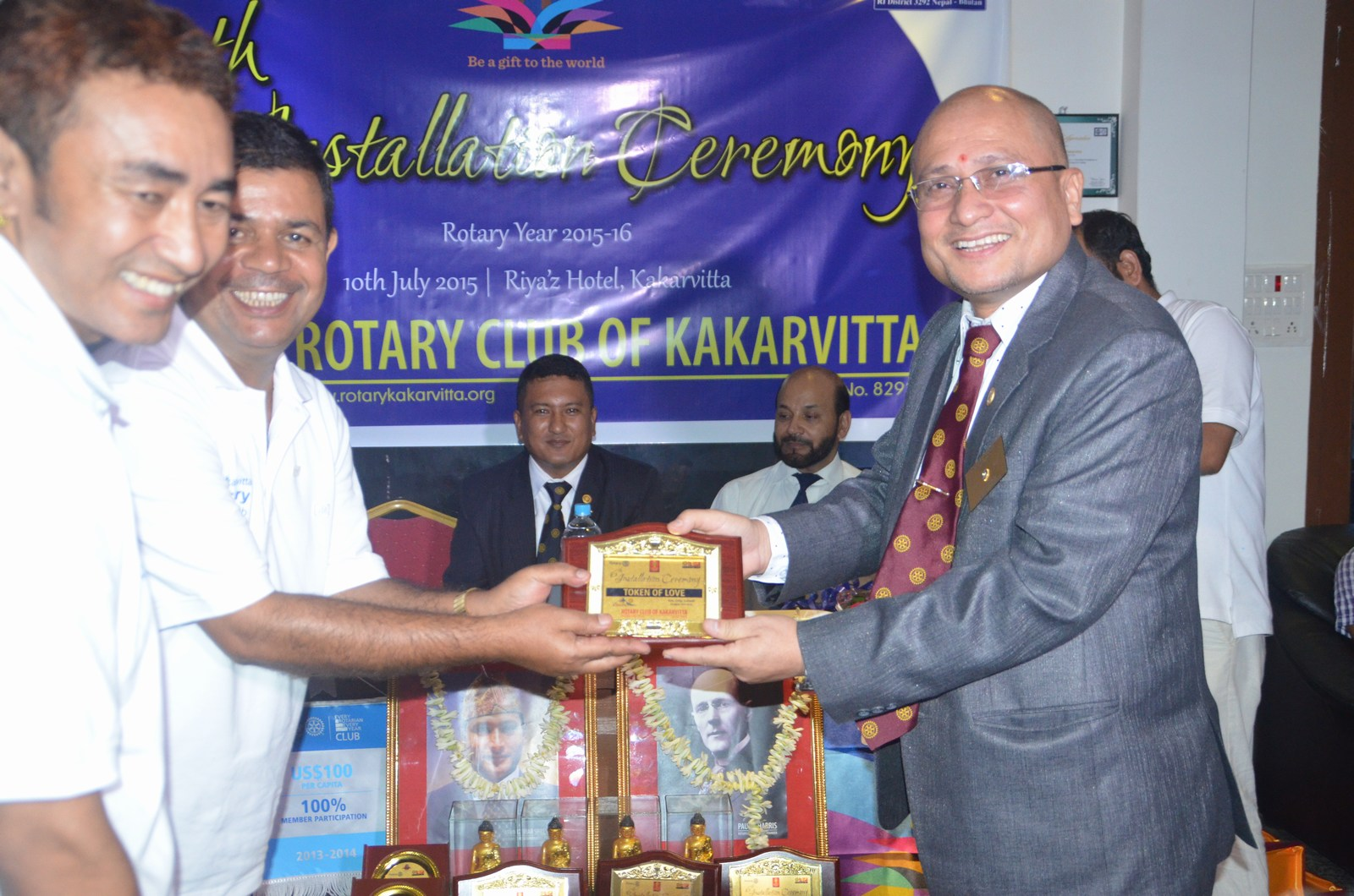 6th Installation Ceremony 2015 16 Rotary Club Of Kakarvitta 21