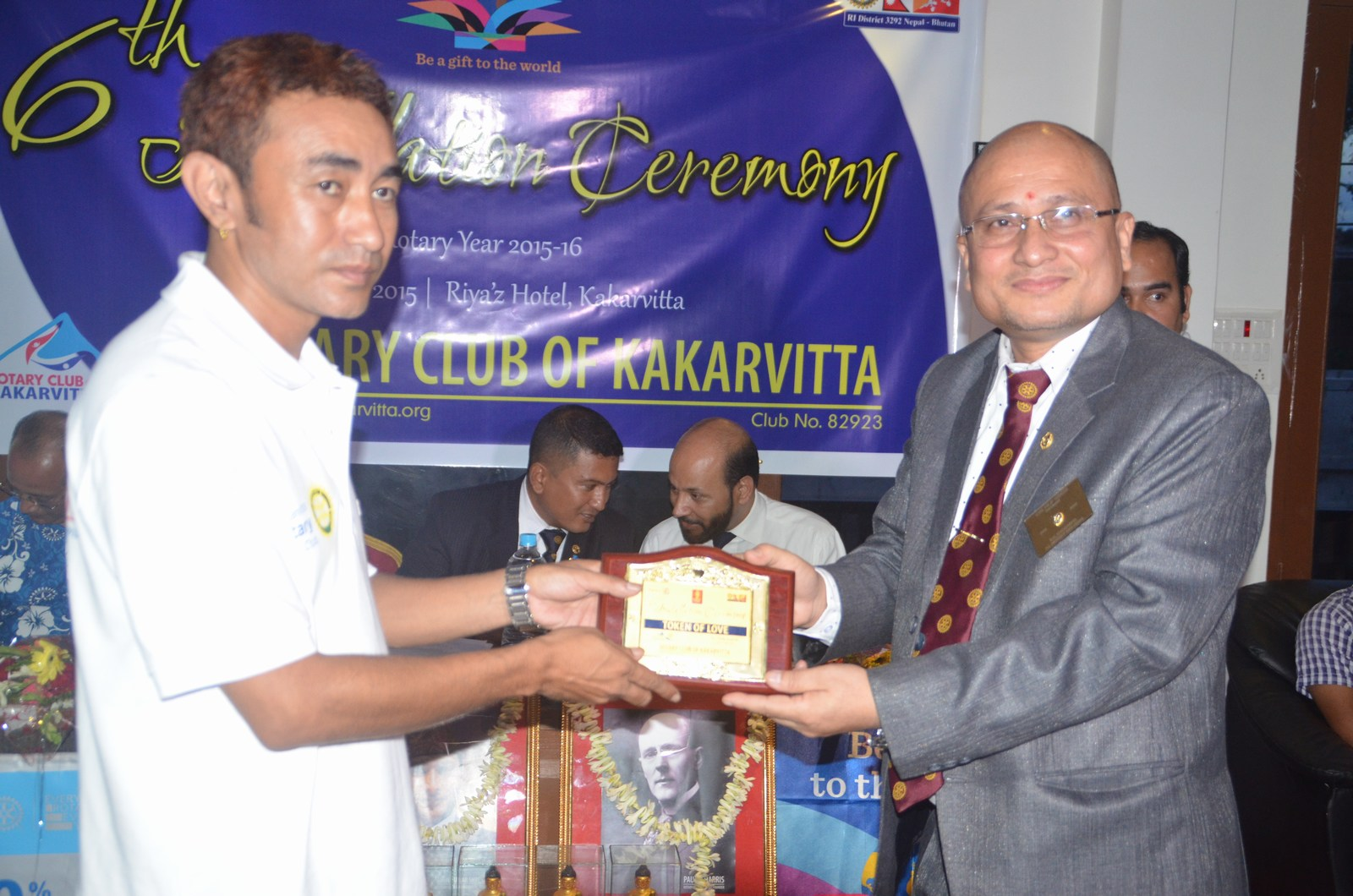 6th Installation Ceremony 2015 16 Rotary Club Of Kakarvitta 22