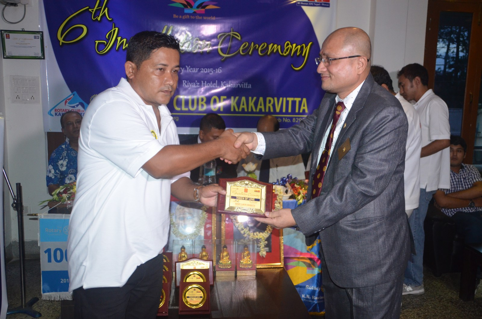 6th Installation Ceremony 2015 16 Rotary Club Of Kakarvitta 23