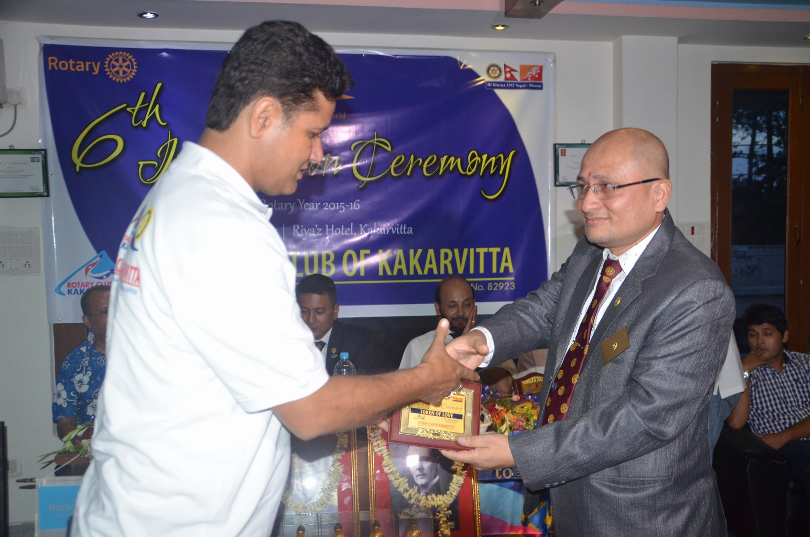 6th Installation Ceremony 2015 16 Rotary Club Of Kakarvitta 24