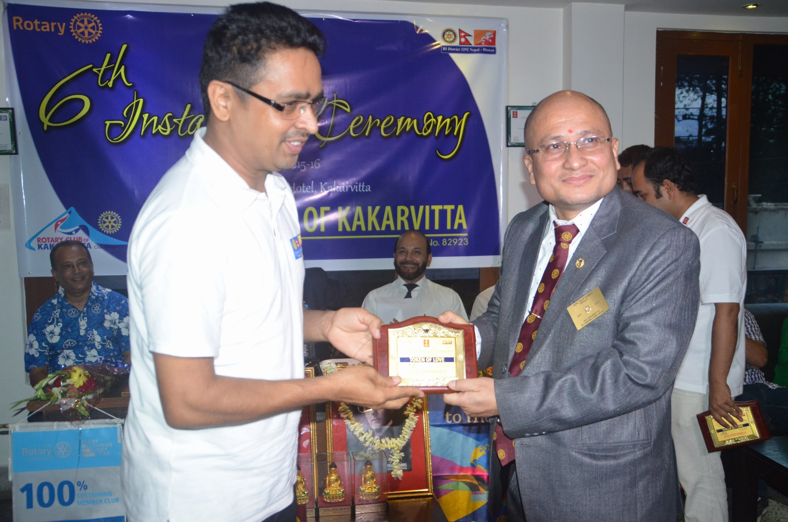 6th Installation Ceremony 2015 16 Rotary Club Of Kakarvitta 25