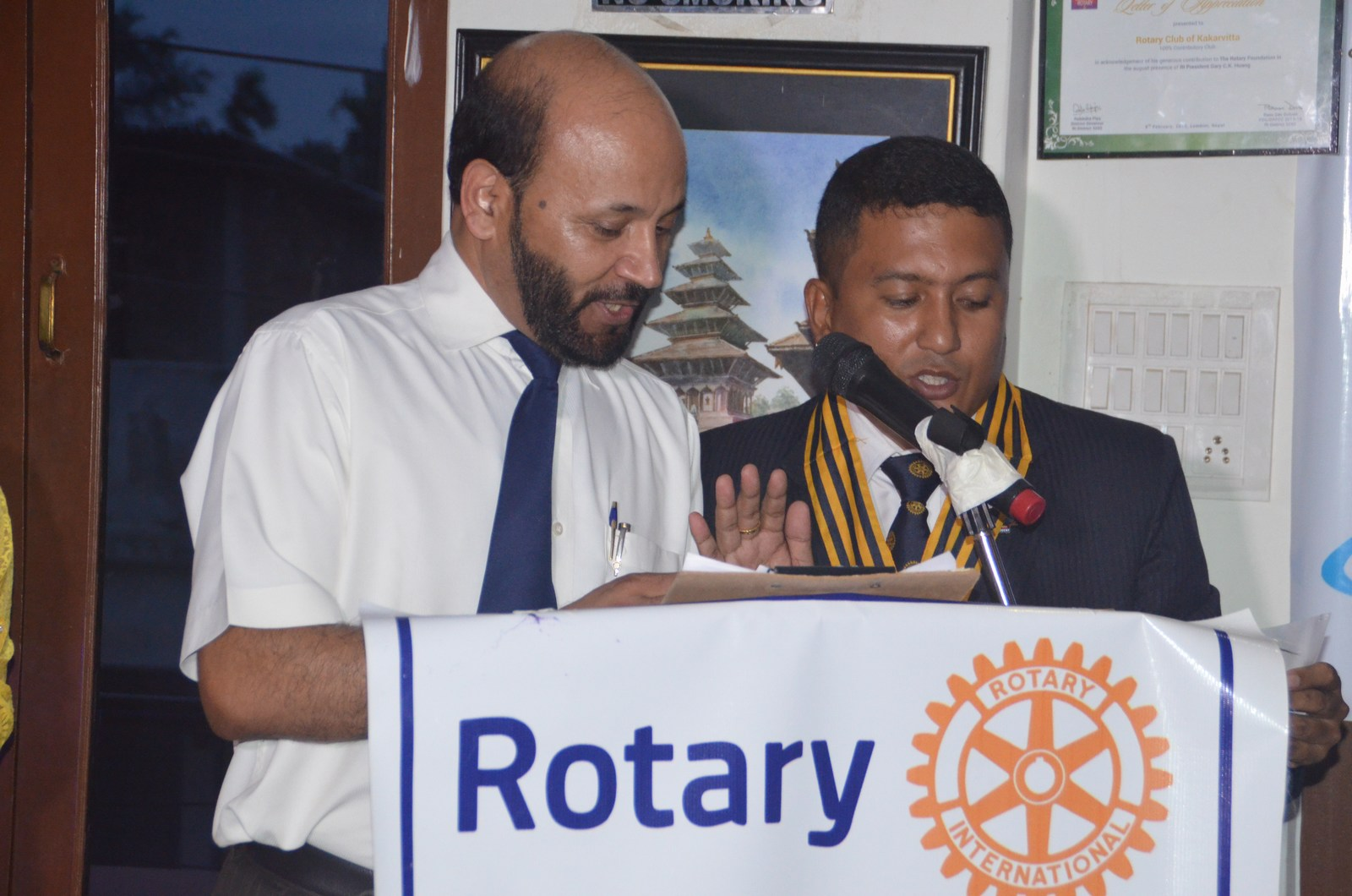 6th Installation Ceremony 2015 16 Rotary Club Of Kakarvitta 30