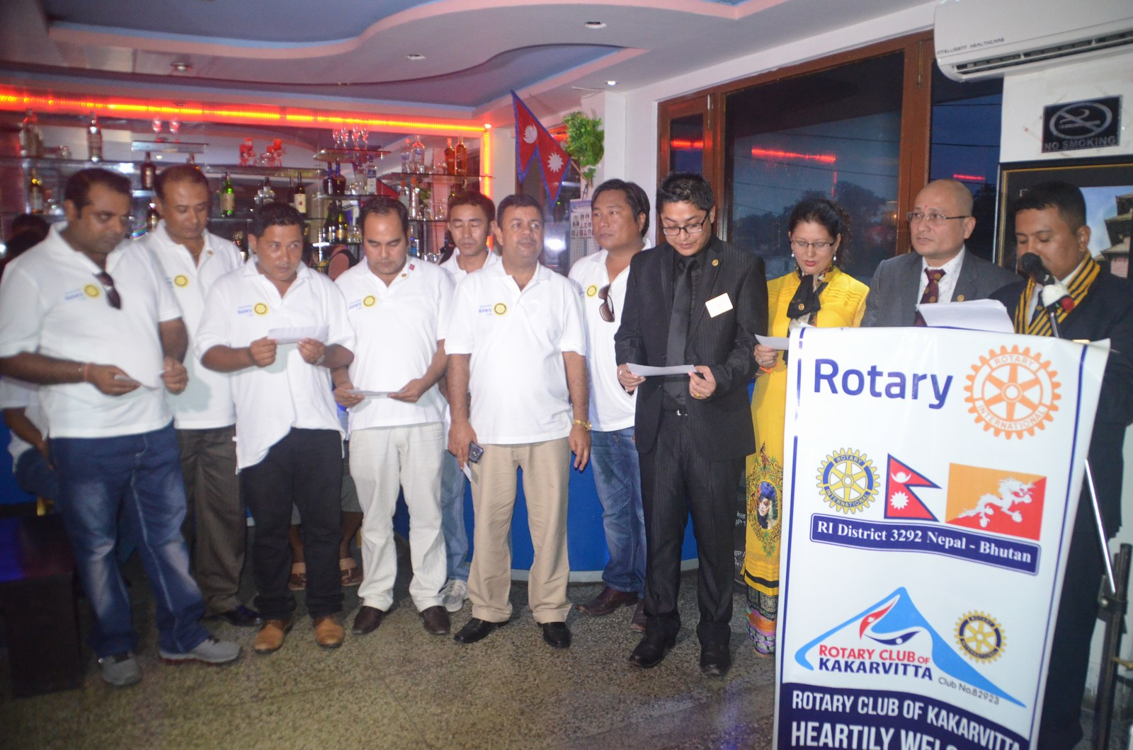 6th Installation Ceremony 2015 16 Rotary Club Of Kakarvitta 32