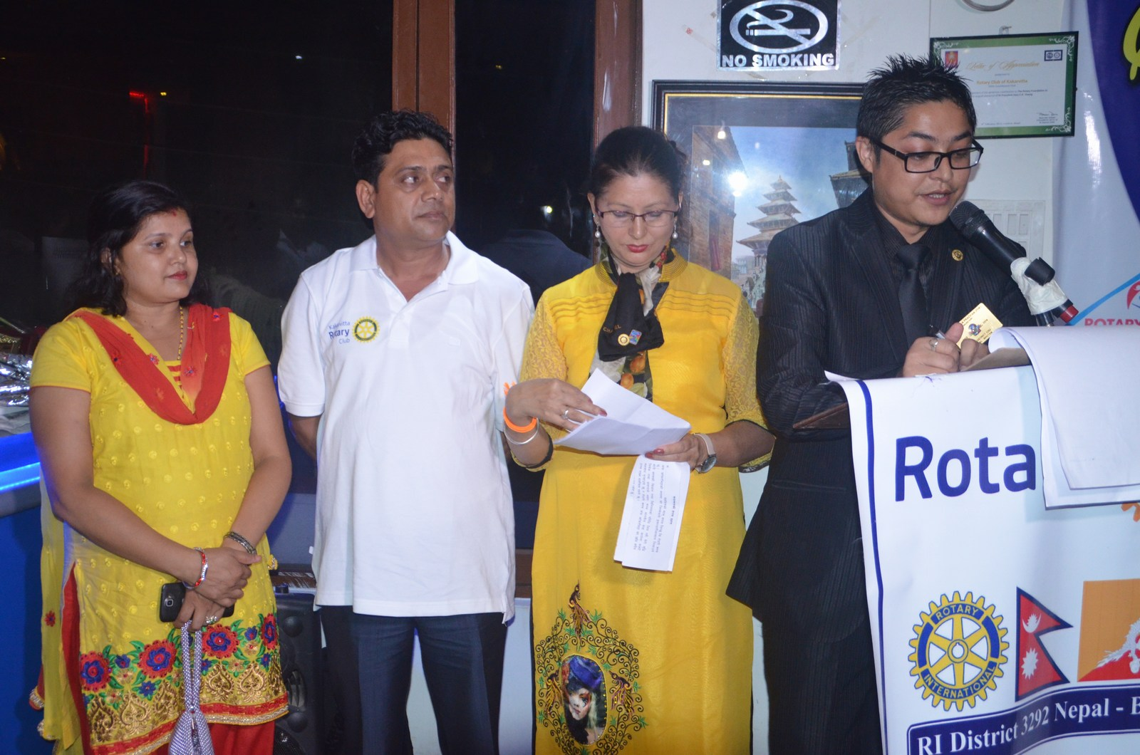 6th Installation Ceremony 2015 16 Rotary Club Of Kakarvitta 39