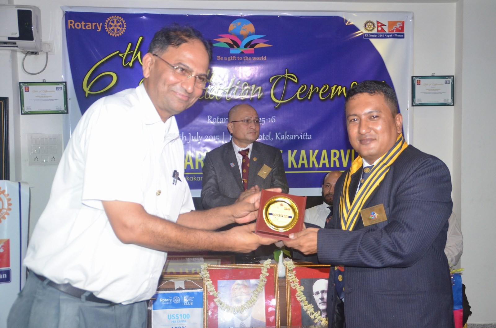 6th Installation Ceremony 2015 16 Rotary Club Of Kakarvitta 49