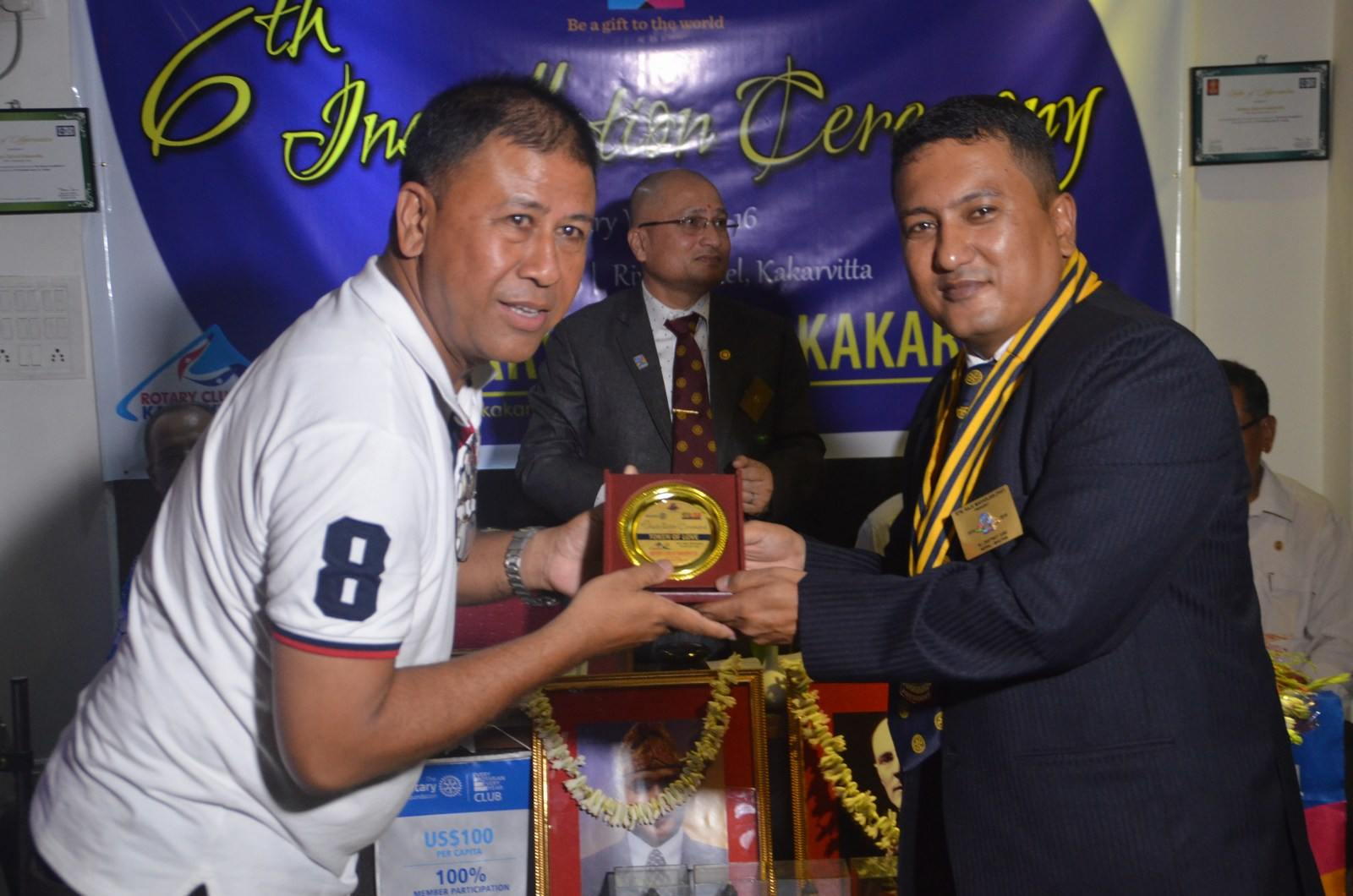 6th Installation Ceremony 2015 16 Rotary Club Of Kakarvitta 50