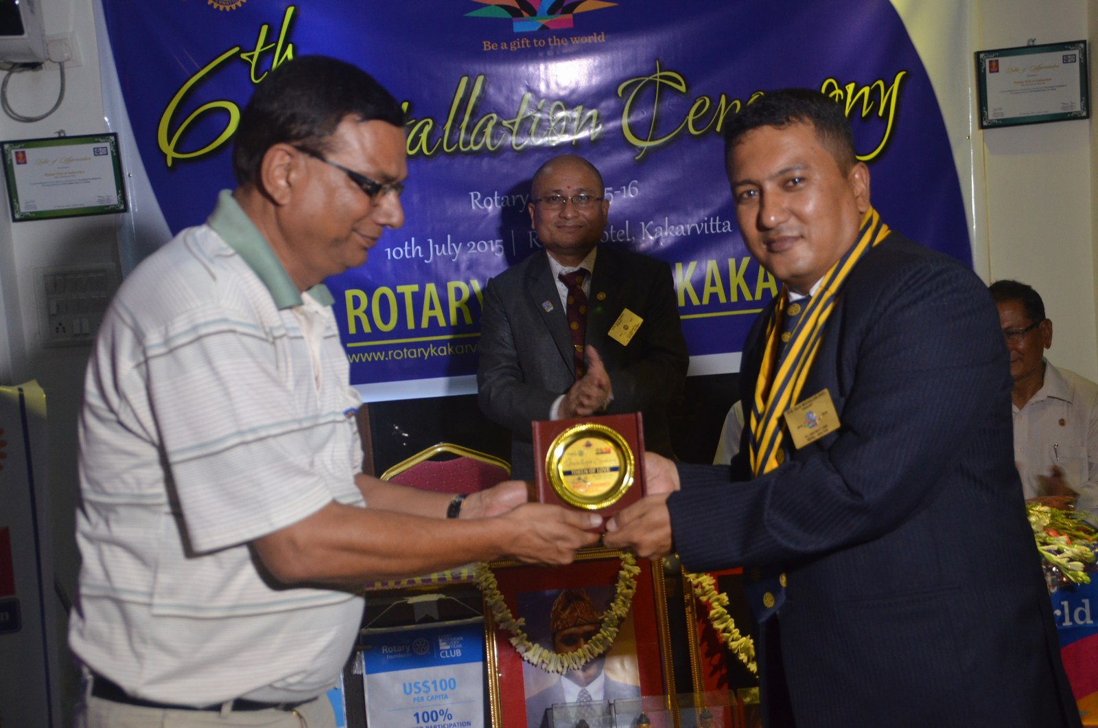 6th Installation Ceremony 2015 16 Rotary Club Of Kakarvitta 52
