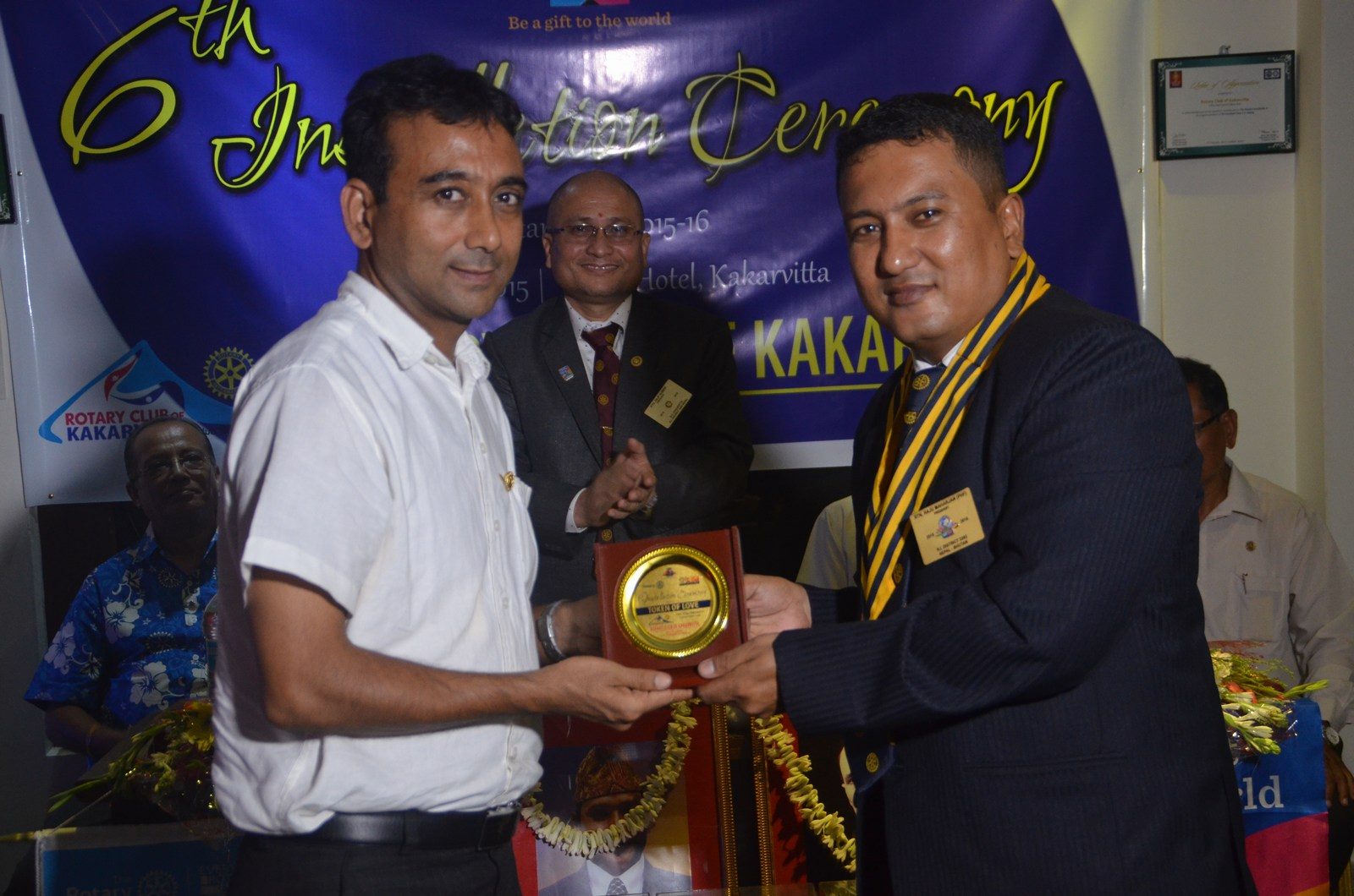 6th Installation Ceremony 2015 16 Rotary Club Of Kakarvitta 53