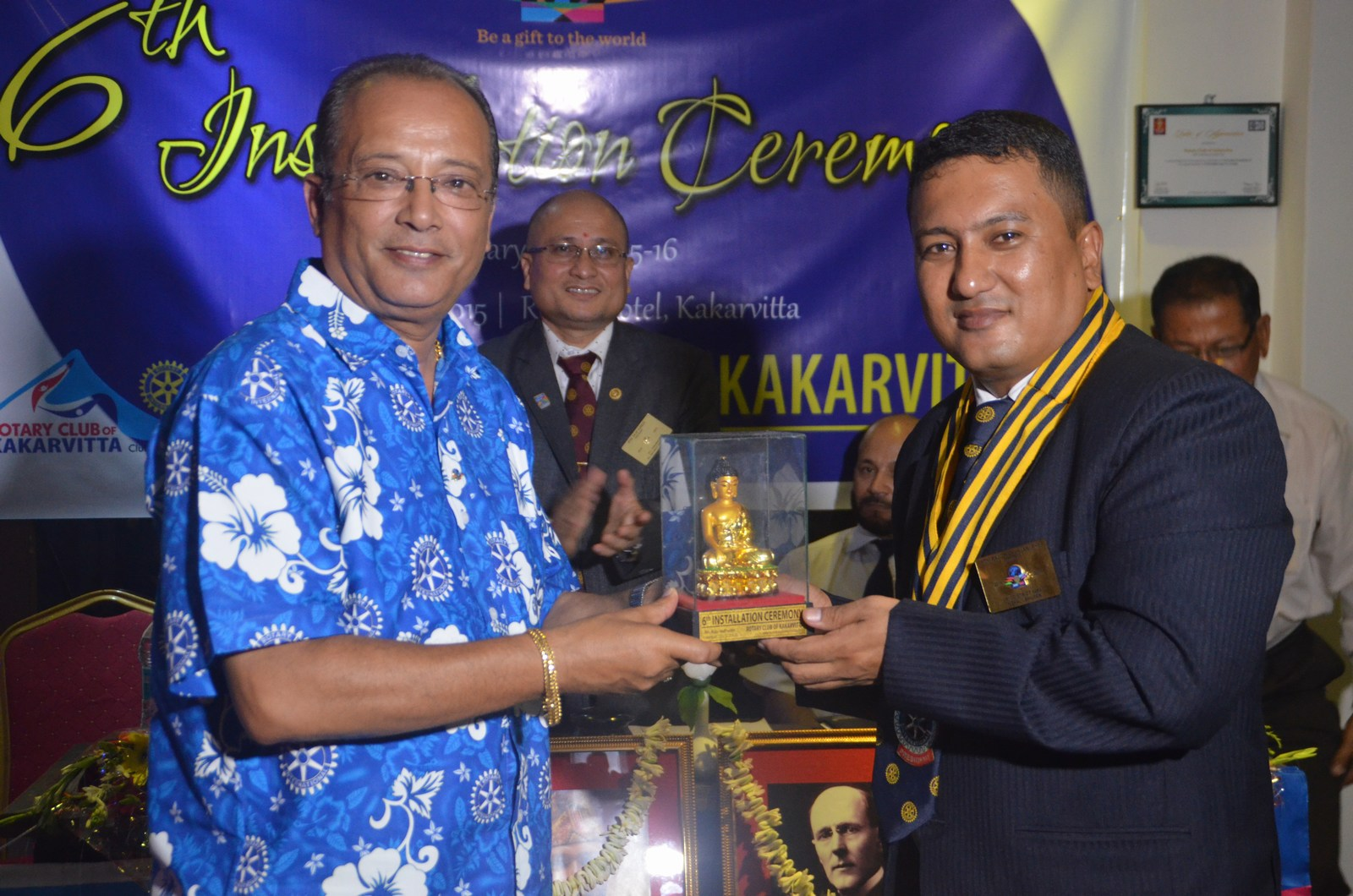 6th Installation Ceremony 2015 16 Rotary Club Of Kakarvitta 54