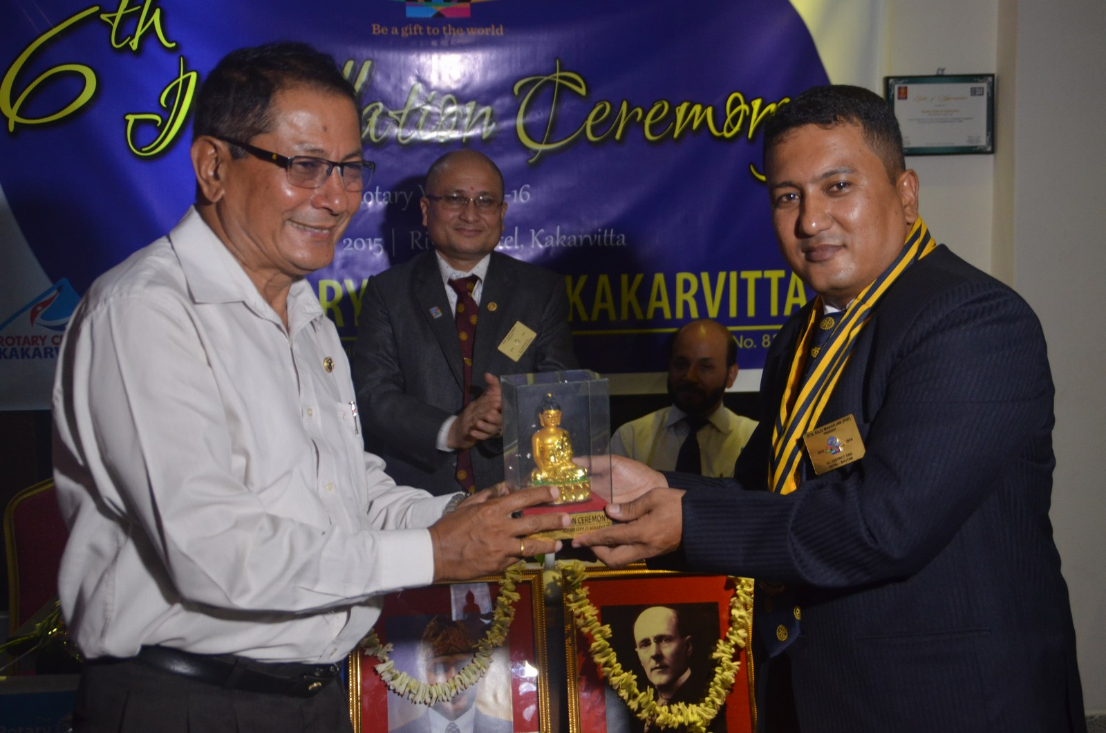 6th Installation Ceremony 2015 16 Rotary Club Of Kakarvitta 55