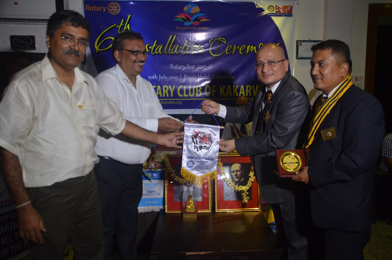 6th Installation Ceremony 2015 16 Rotary Club Of Kakarvitta 57