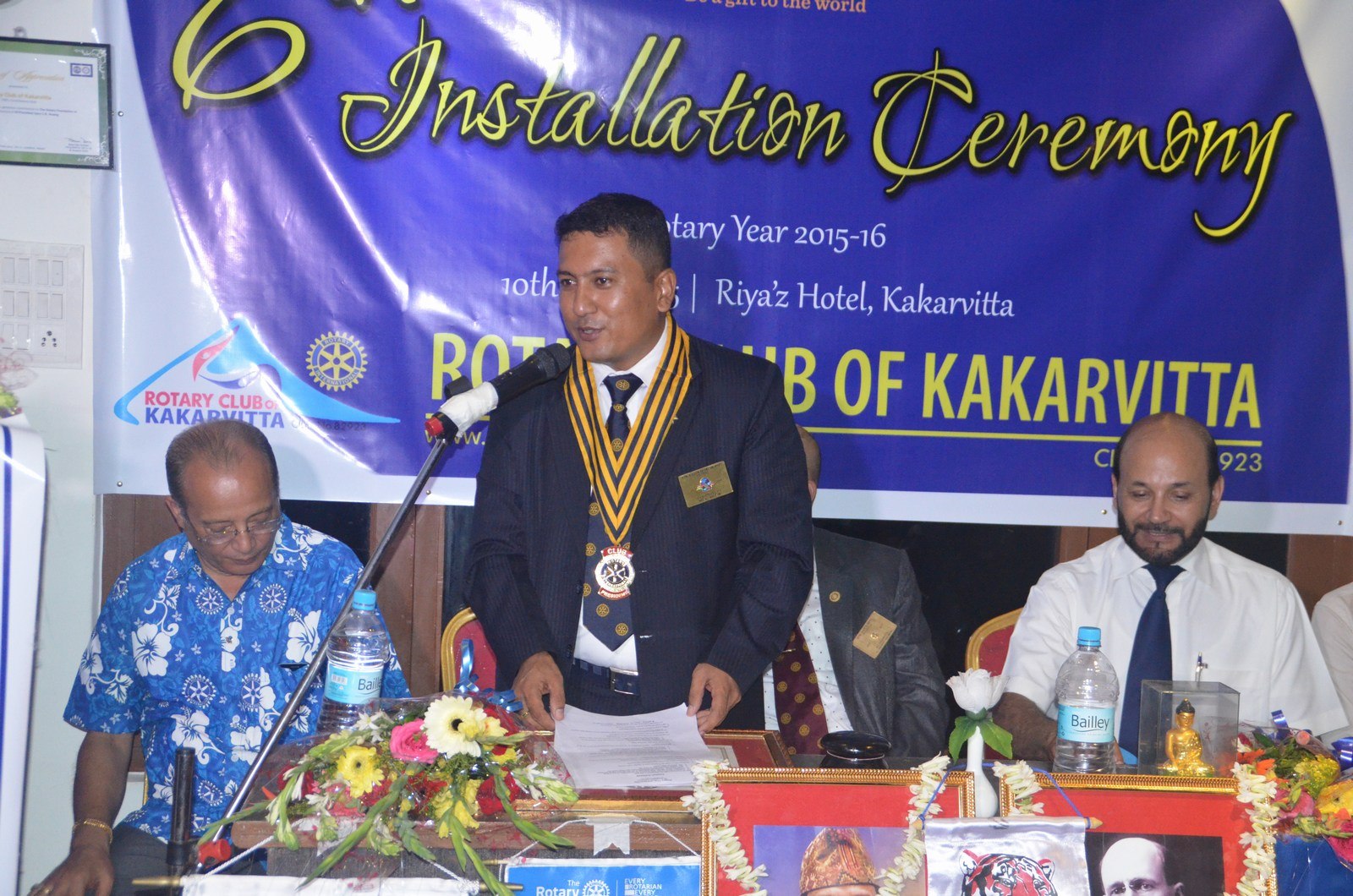 6th Installation Ceremony 2015 16 Rotary Club Of Kakarvitta 59